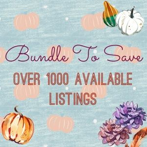 Other - 🍁 Bundle To Save 🎃
